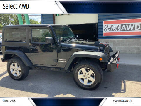 2013 Jeep Wrangler for sale at Select AWD in Provo UT