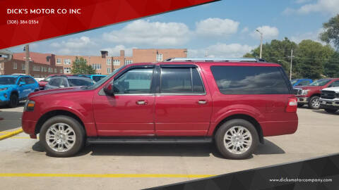 2013 Ford Expedition EL for sale at DICK'S MOTOR CO INC in Grand Island NE