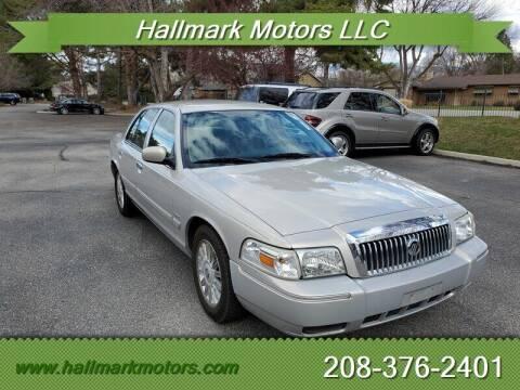 2010 Mercury Grand Marquis for sale at HALLMARK MOTORS LLC in Boise ID
