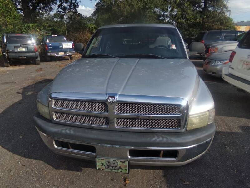 2001 Dodge Ram Pickup 1500 for sale at Alabama Auto Sales in Semmes AL