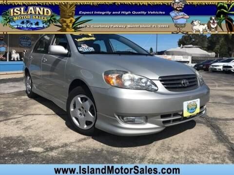2004 Toyota Corolla for sale at Island Motor Sales Inc. in Merritt Island FL