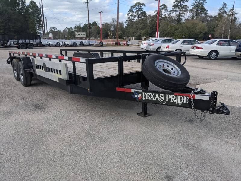 2019 Texas Pride 7' X 22' Lowboy 7K GVWR for sale at Park and Sell - Trailers in Conroe TX