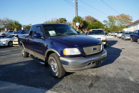 2002 Ford F-150 for sale at J Linn Motors in Clearwater FL