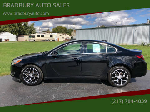2017 Buick Regal for sale at BRADBURY AUTO SALES in Gibson City IL