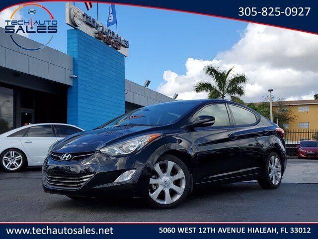 2013 Hyundai Elantra for sale at Tech Auto Sales in Hialeah FL