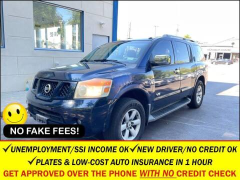 2008 Nissan Armada for sale at AUTOFYND in Elmont NY