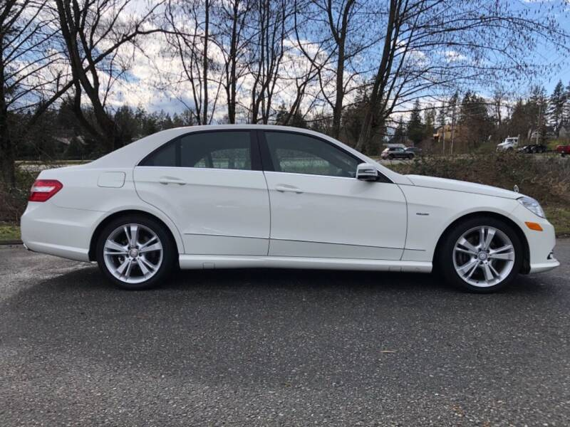 2012 Mercedes-Benz E-Class for sale at Grandview Motors Inc. in Gig Harbor WA