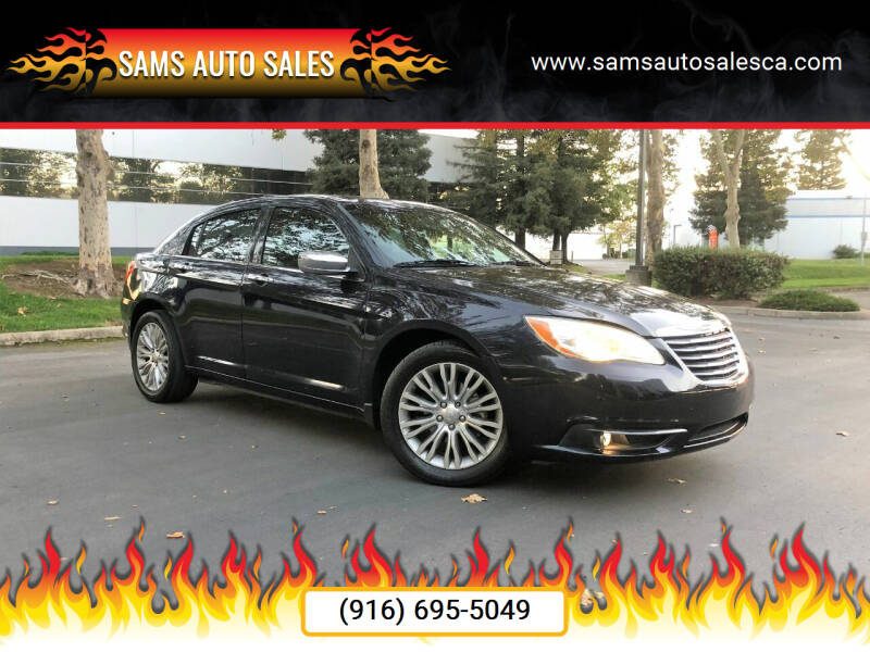 2012 Chrysler 200 for sale at Sams Auto Sales in North Highlands CA