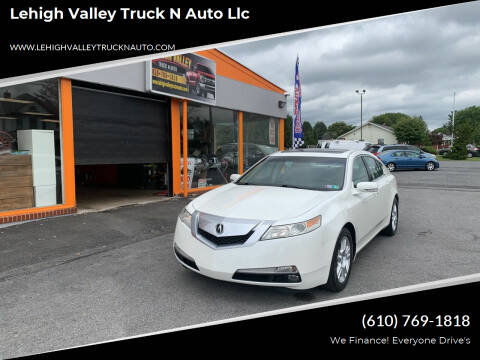 2010 Acura TL for sale at Lehigh Valley Truck n Auto LLC. in Schnecksville PA