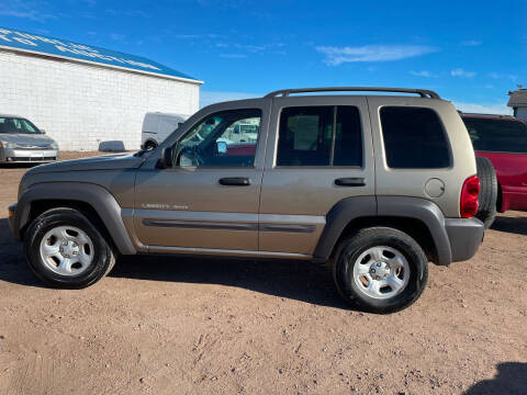 2003 Jeep Liberty for sale at PYRAMID MOTORS - Fountain Lot in Fountain CO