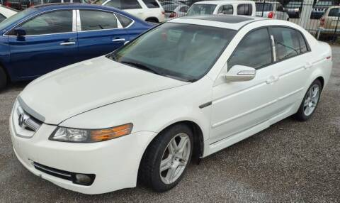 2007 Acura TL for sale at 4 U MOTORS in El Paso TX