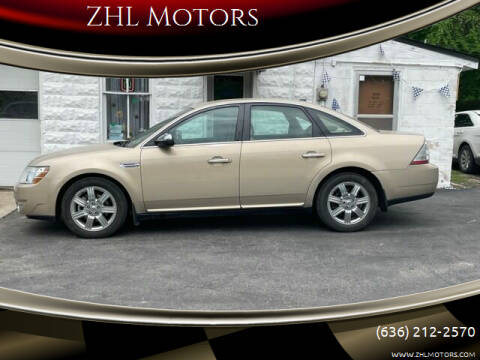 2008 Ford Taurus for sale at ZHL Motors in House Springs MO