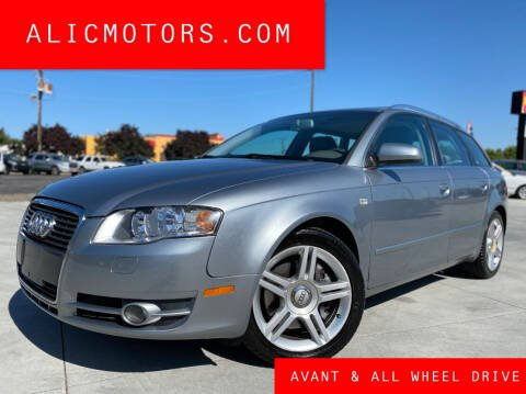 2007 Audi A4 for sale at ALIC MOTORS in Boise ID