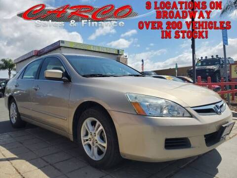 2007 Honda Accord for sale at CARCO SALES & FINANCE - CARCO OF POWAY in Poway CA