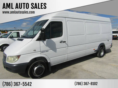2004 Dodge Sprinter Cargo for sale at AML AUTO SALES - Cargo Vans in Opa-Locka FL