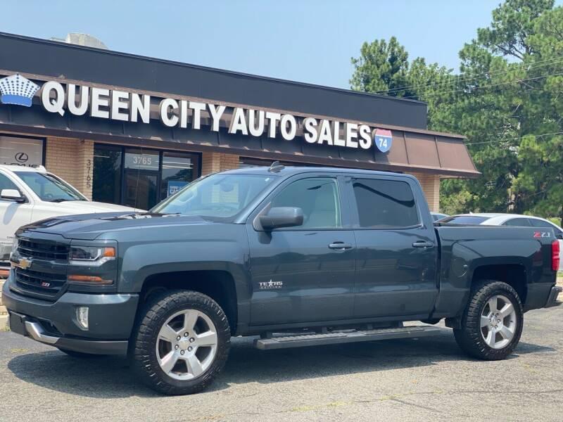 2018 Chevrolet Silverado 1500 for sale at Queen City Auto Sales in Charlotte NC
