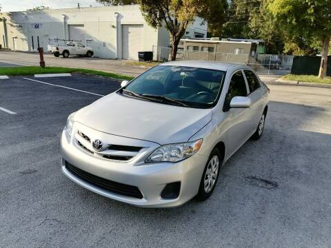 2013 Toyota Corolla for sale at Best Price Car Dealer in Hallandale Beach FL