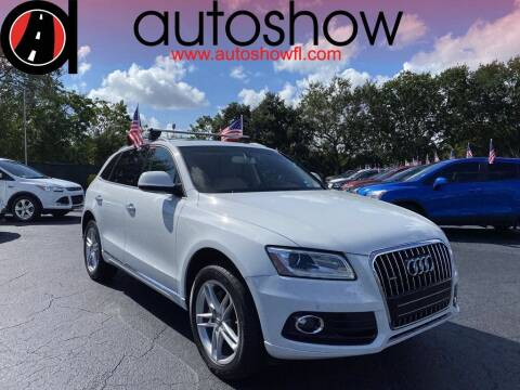 2017 Audi Q5 for sale at AUTOSHOW SALES & SERVICE in Plantation FL