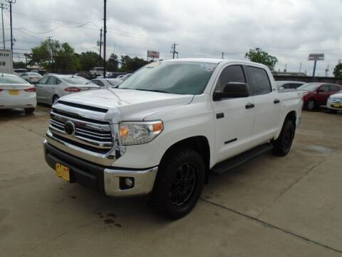 2017 Toyota Tundra for sale at BAS MOTORS in Houston TX