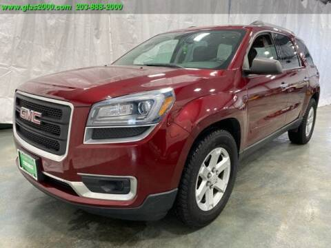 2015 GMC Acadia for sale at Green Light Auto Sales LLC in Bethany CT