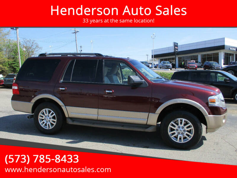 2011 Ford Expedition for sale at Henderson Auto Sales in Poplar Bluff MO