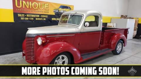 1940 Chevrolet C/K 20 Series for sale at UNIQUE SPECIALTY & CLASSICS in Mankato MN