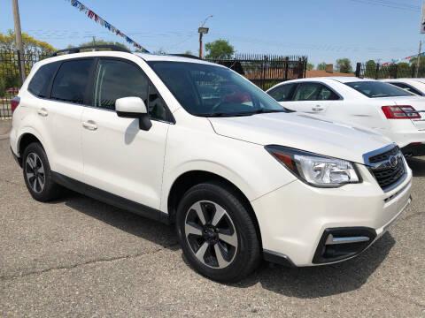 2017 Subaru Forester for sale at SKY AUTO SALES in Detroit MI