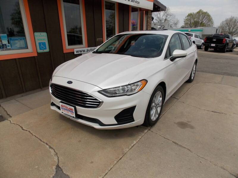 2019 Ford Fusion for sale at Autoland in Cedar Rapids IA