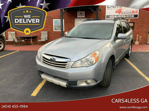 2012 Subaru Outback for sale at Cars4Less GA in Alpharetta GA