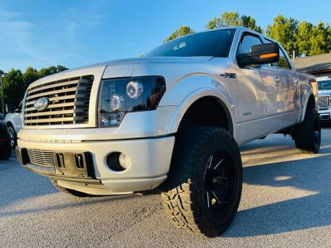 2012 Ford F-150 for sale at Classic Luxury Motors in Buford GA