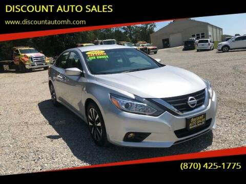 2018 Nissan Altima for sale at DISCOUNT AUTO SALES in Mountain Home AR