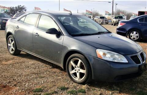 2009 Pontiac G6 for sale at Advantage Auto Sales in Wichita Falls TX
