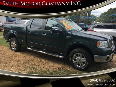 2007 Ford F-150 for sale at Smith Motor Company INC in Mc Cormick SC