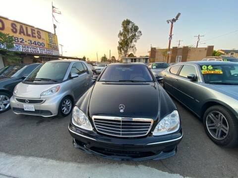 2003 Mercedes-Benz S-Class for sale at Paykan Auto Sales Inc in San Diego CA