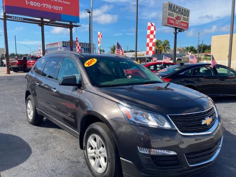 2017 Chevrolet Traverse for sale at MACHADO AUTO SALES in Miami FL