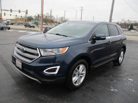 2017 Ford Edge for sale at Windsor Auto Sales in Loves Park IL