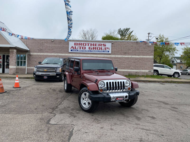 2010 Jeep Wrangler Unlimited for sale at Brothers Auto Group in Youngstown OH