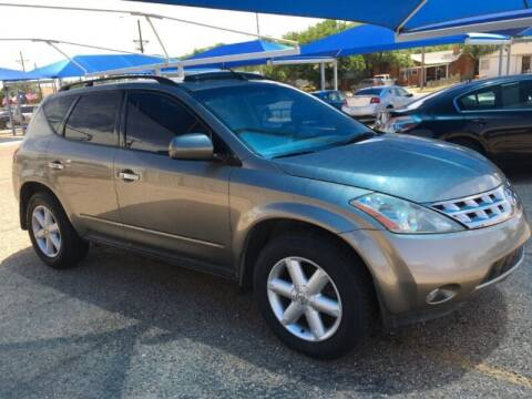 2004 Nissan Murano for sale at Chuck Spaugh Auto Sales in Lubbock TX