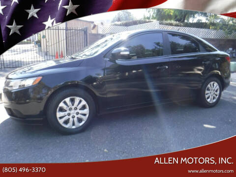 2010 Kia Forte for sale at Allen Motors, Inc. in Thousand Oaks CA