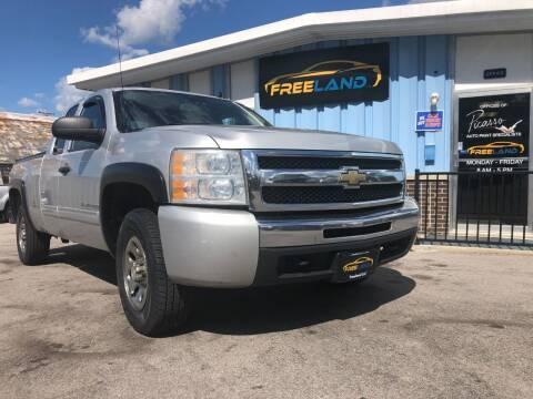 2011 Chevrolet Silverado 1500 for sale at Freeland LLC in Waukesha WI