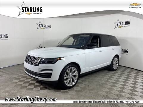 2019 Land Rover Range Rover for sale at Pedro @ Starling Chevrolet in Orlando FL