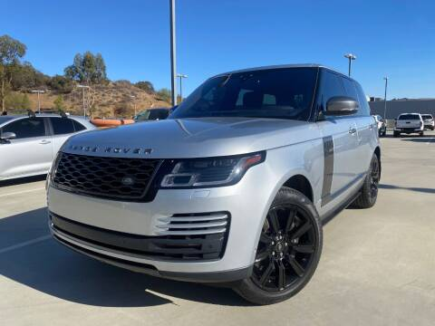 2019 Land Rover Range Rover for sale at Allen Motors, Inc. in Thousand Oaks CA