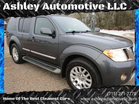 2010 Nissan Pathfinder for sale at Ashley Automotive LLC in Altoona WI