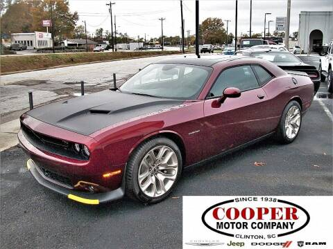 2020 Dodge Challenger for sale at Cooper Motor Company in Clinton SC