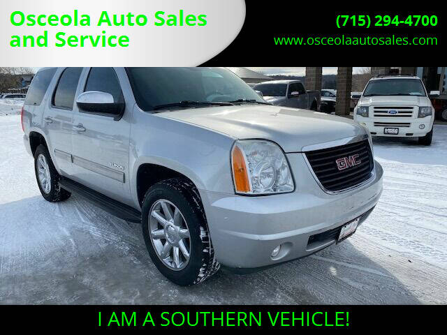 2012 GMC Yukon for sale at Osceola Auto Sales and Service in Osceola WI