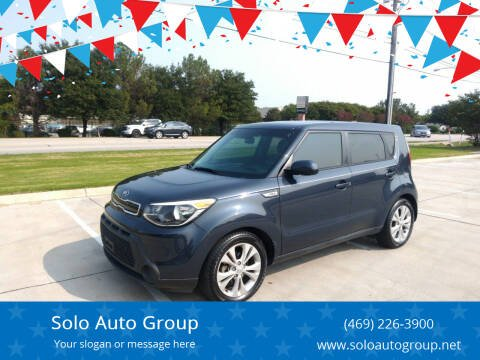 2015 Kia Soul for sale at Solo Auto Group in Mckinney TX