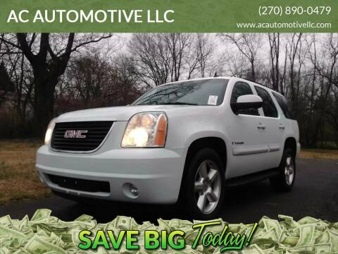 2007 GMC Yukon for sale at AC AUTOMOTIVE LLC in Hopkinsville KY