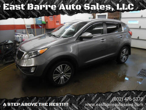 2015 Kia Sportage for sale at East Barre Auto Sales, LLC in East Barre VT
