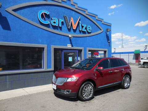 2015 Lincoln MKX for sale at Carwize in Detroit MI