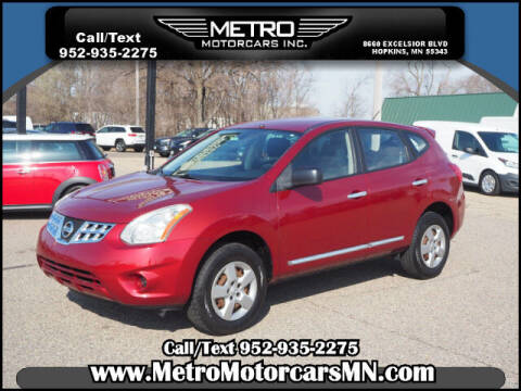 2011 Nissan Rogue for sale at Metro Motorcars Inc in Hopkins MN